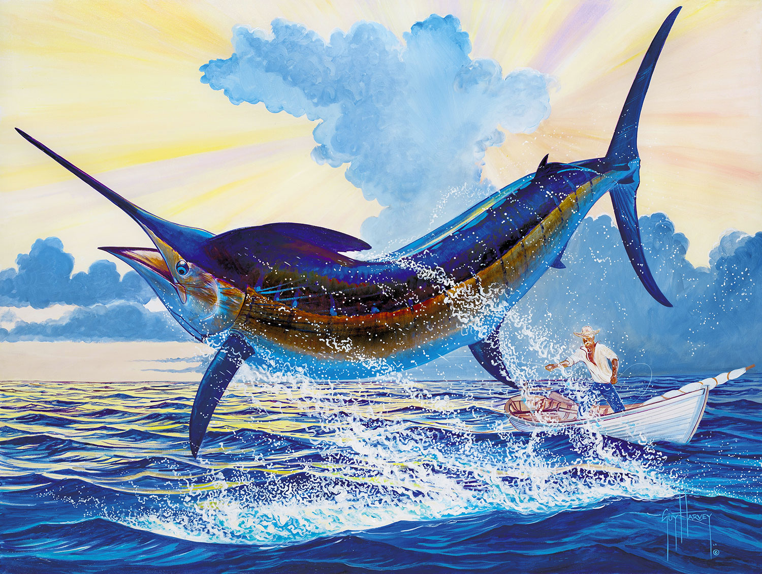 eff10b021 Reeling in The Big One: An interview with Guy Harvey - Grand Cayman ...